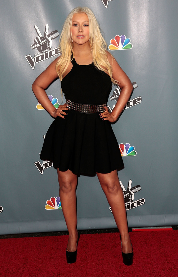 Christina Aguilera, The Voice, LA