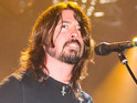 Foo Fighters leader talks about recording with the band in the new video.
