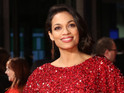 Rosario Dawson says female stars face undue pressure, whereas male stars don't.