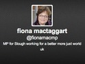 "Fiona Mactaggart admits to being ""Twitter naive"" after offer proves costly."