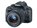 EOS 100D has 18MP sensor in body measuring 116.8x90.7x69.4mm, and weighing 407g.