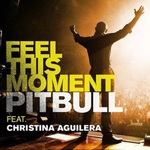 Pitbull, Christina Aguilera 'Feel This Moment' artwork
