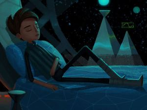 Broken Age character screenshot