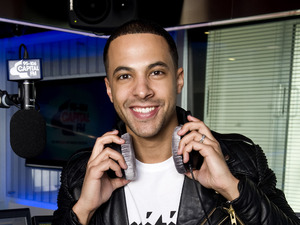 Marvin Humes at Capital FM