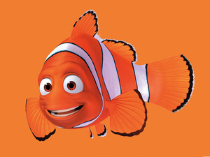 Finding Nemo 3D poster featuring Marlin
