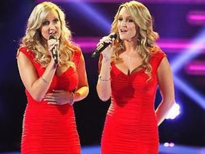 The Morgan Twins perform on The Voice Season 4 premiere