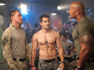 Channing Tatum, The Rock, D.J Cotrona, G.I. Joe: Retaliation stills