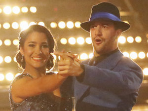 Dancing with the Stars 2013 - week 2: Aly Raisman and Mark Ballas
