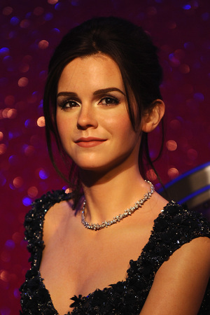Emma Watson waxwork unveiled at Madame Tussauds, London