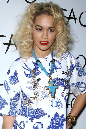 Rita Ora hosts a night at TAO Nightclub, Las Vegas. The popstar also performed at the event.