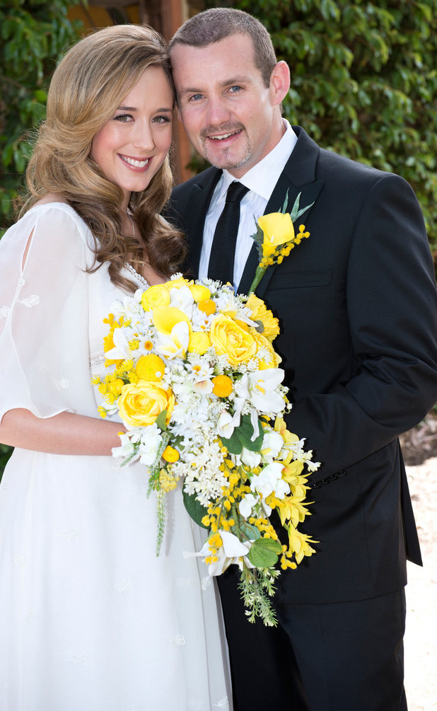 Toadie and Sonya get married