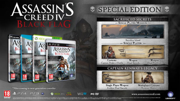 Assassin's Creed 4: Black Flag Special Edition