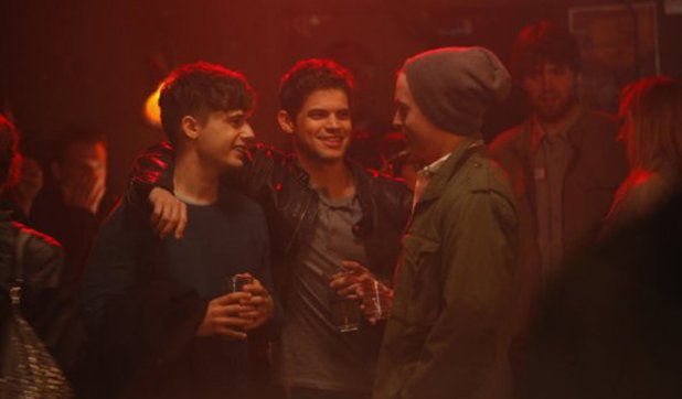 Andy Mientus as Kyle, Jeremy Jordan as Jimmy in Smash S02E08: 'The Bells and Whistles'