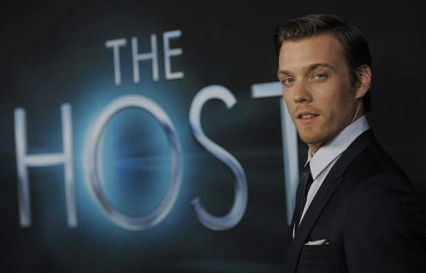 Jake Abel at the Los Angeles premiere of 'The Host' -- March 19, 2013