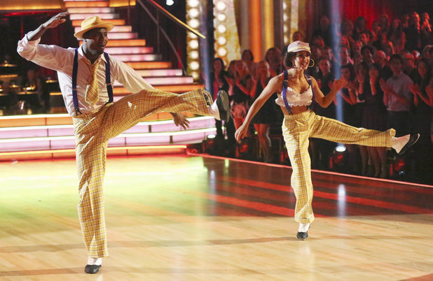 Dancing with the Stars 2013 - week 2: Jacoby Jones and Karina Smirnoff