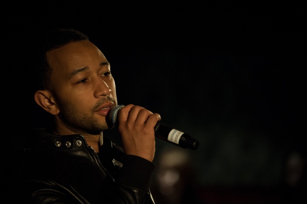 John Legend previews new album in London.