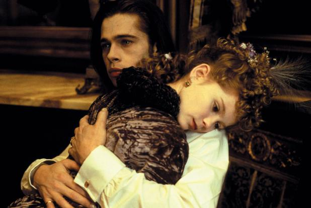 Brad Pitt and Kirsten Dunst in 'Interview with the Vampire: The Vampire Chronicles'