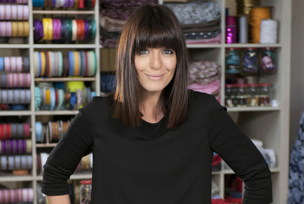 Claudia Winkleman on The Great British Sewing Bee