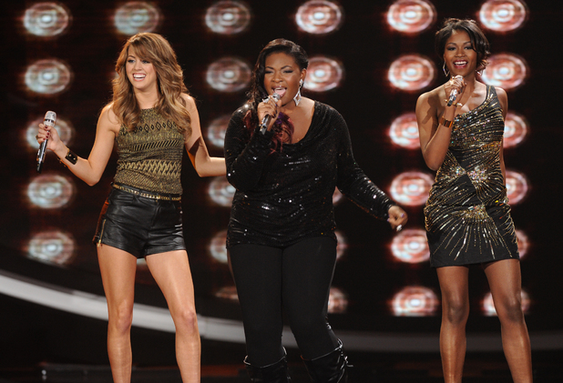 Top 8 performance with Angie and Amber