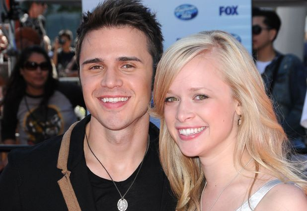 Kris Allen and wife Katy O'Connell
