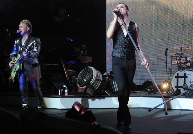 Depeche Mode in concert in 2010