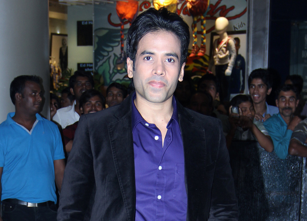 Tusshar Kapoor at the 'Dabangg 2' premiere -- Mumbai, December 20, 2012