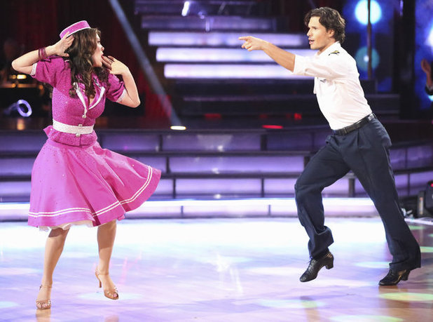 Dancing with the Stars 2013 - week 2: Lisa Vanderpump and Gleb Savchenko