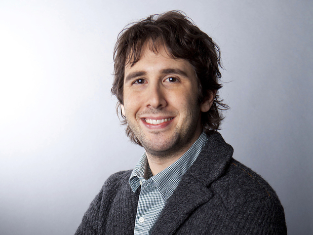 Josh Groban in a portrait dated January 3, 2013