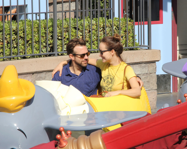 Jason Sudeikis, Olivia Wilde, Disney Land