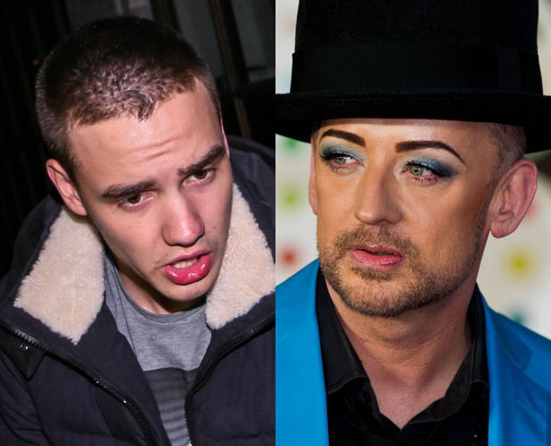 Liam Payne and Boy George