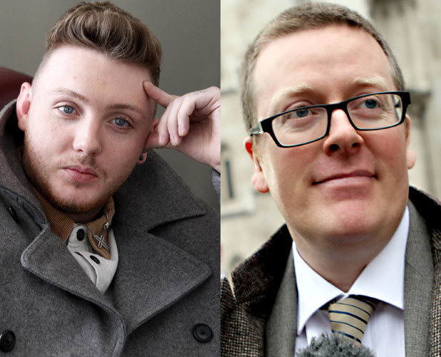 James Arthur and Frankie Boyle
