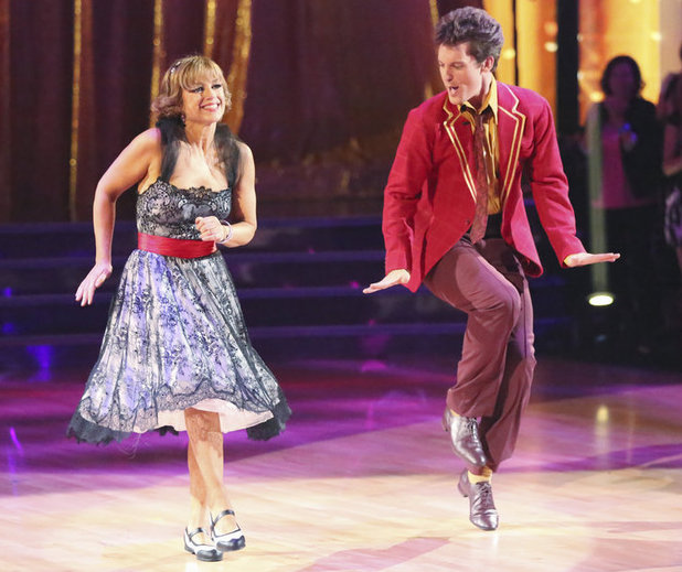 Dancing with the Stars 2013 - week 2: Dorothy Hamill and Tristan MacManus
