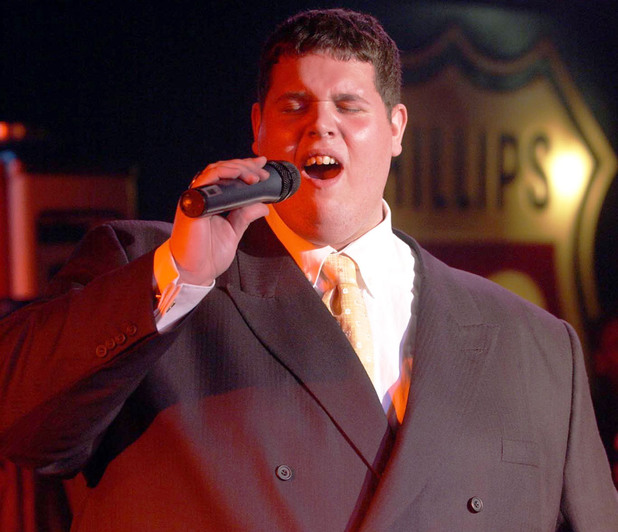 Pop Idol finalist, Rik Waller, performs his forthcoming single 'I Will Always Love You'