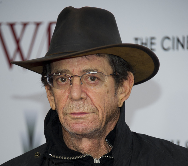 Lou Reed at the premiere of 'W.E', January 2012