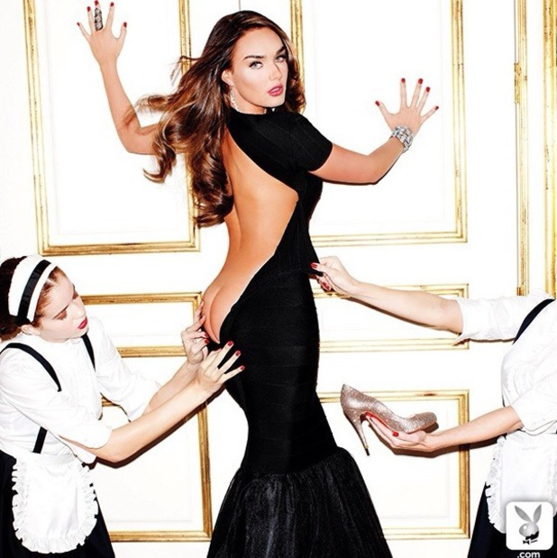 Tamara Ecclestone poses for 'Playboy' magazine