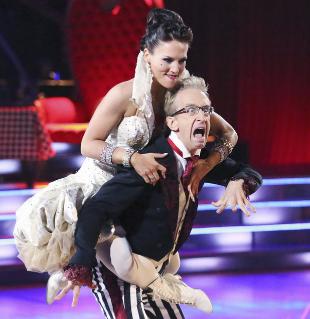 Dancing with the Stars 2013 - week 2: Andy Dick and Sharna Burgess