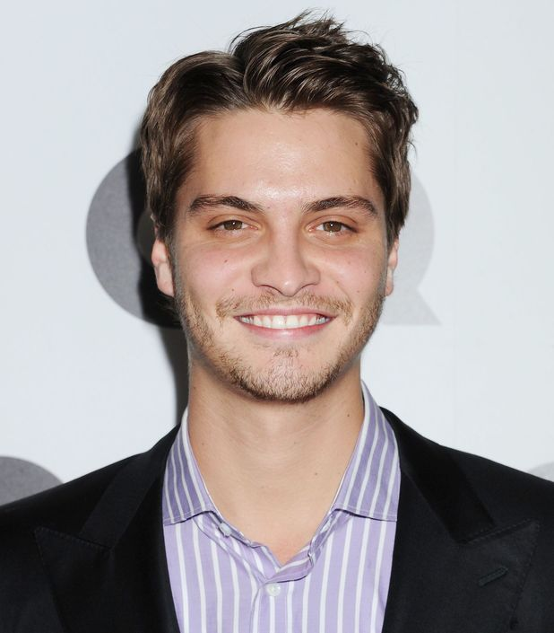 Luke Grimes attends the GQ Men of the Year Party, held at the Chateau Marmont in Hollywood on November 17, 2010.
