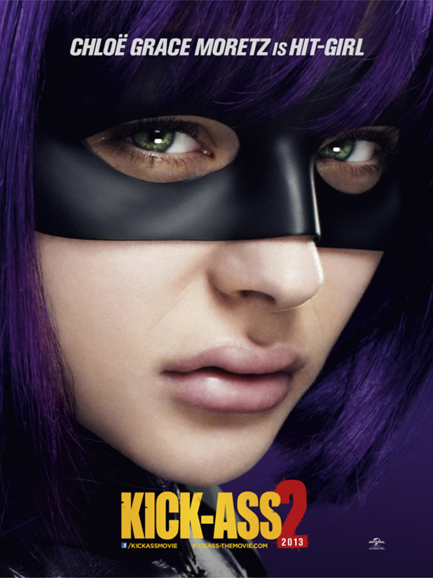 'Kick-Ass 2' Hit-Girl poster