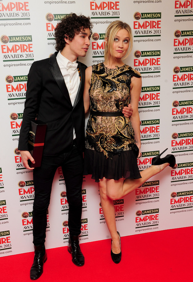 Rob Sheehan and Laura Whitmore