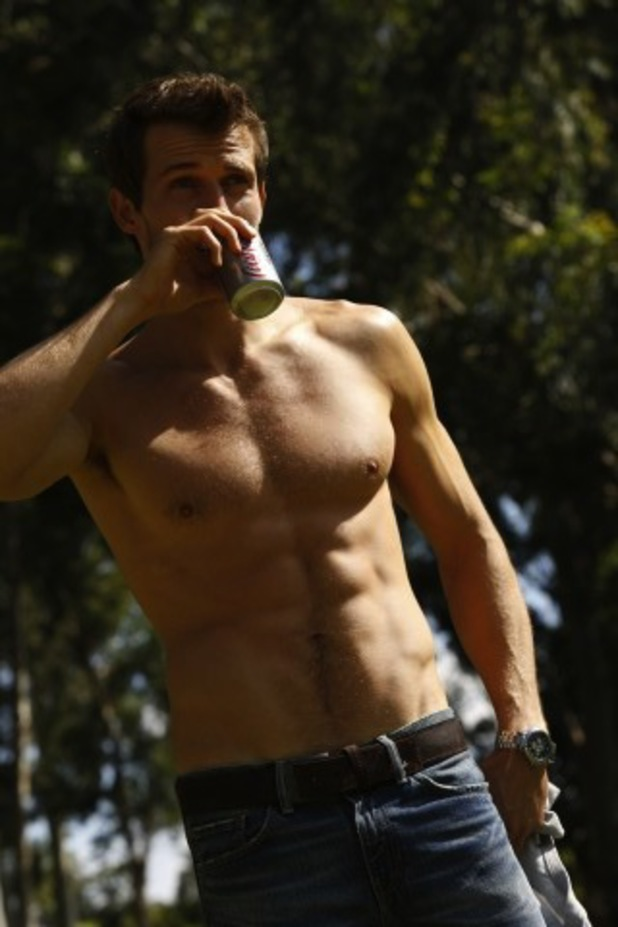 Andrew Cooper, Diet Coke, advert, Diet Coke hunk