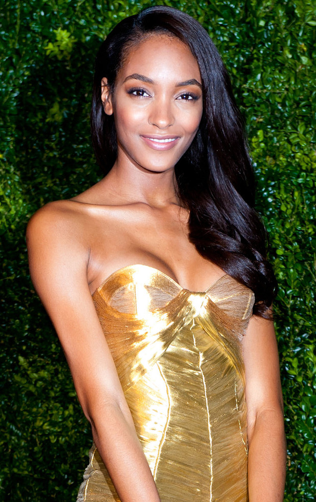 Jourdan Dunn at the Evening Standard Theatre Awards in 2012.