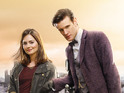 Doctor Who's latest companion also shares details of kissing Matt Smith.