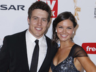 Steve Peacocke and Bridgette Sneddon leaving Home and Away