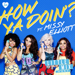 Little Mix ft. Missy Elliot 'How Ya Doin'?' artwork