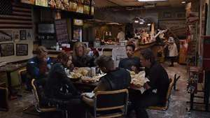 'The Avengers' Blu-ray Shawarma clip