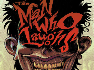 &#39;The Man Who Laughs&#39; cover artwork