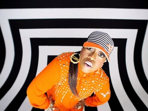 Missy Elliott in Little Mix How Ya Doin'? video