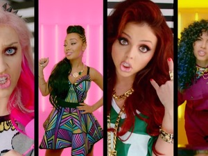 Little Mix 'How Ya Doin'?' video still
