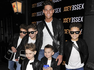 Joey Essex attends his D&#39;Reem Hair launch party at Sugar Hut, Essex