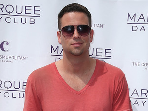 Mark Salling attends the Marquee Dayclub season grand opening event, held at The Cosmopolitan Hotel.